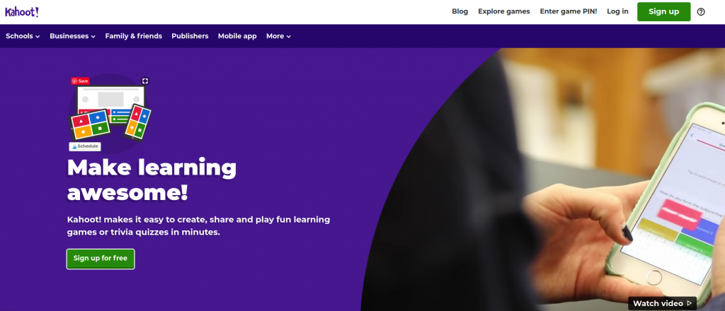 Kahoot Online Review Game For The Classroom Srta Spanish