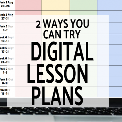 Digital Teacher Planner Variations for Google Drive
