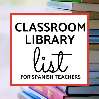 FVR Library List – Time Saver for Spanish Teachers!