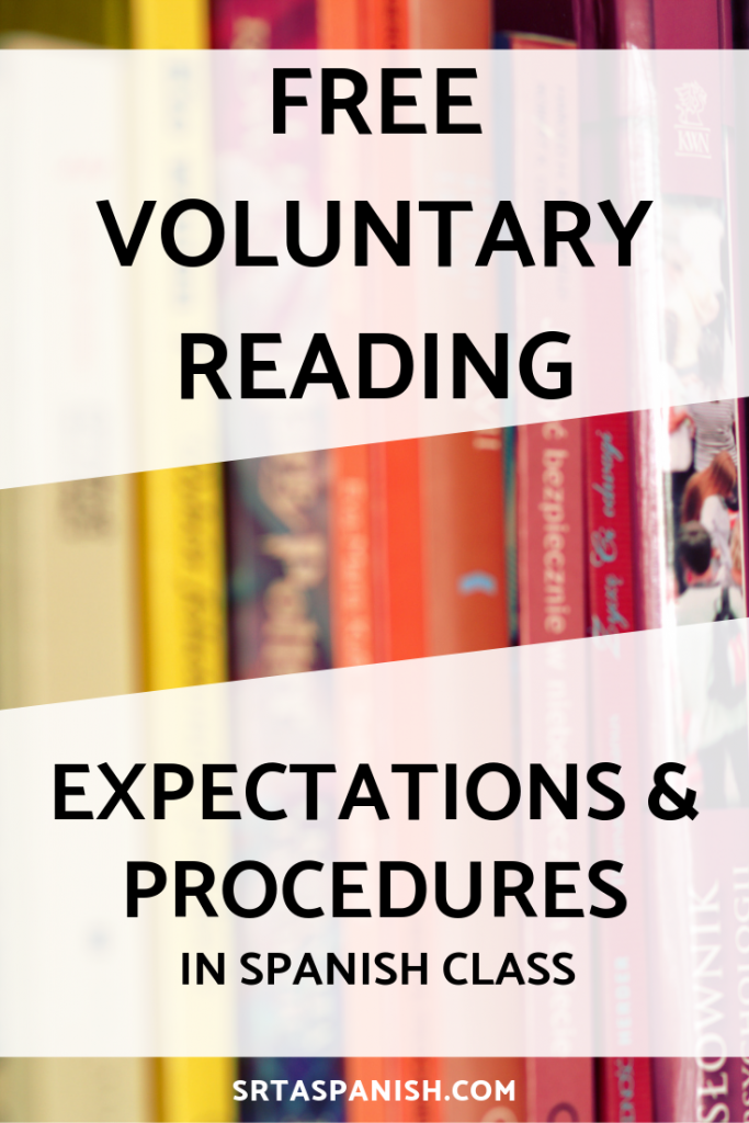 Free Voluntary Reading Expectations and Procedures - SRTA