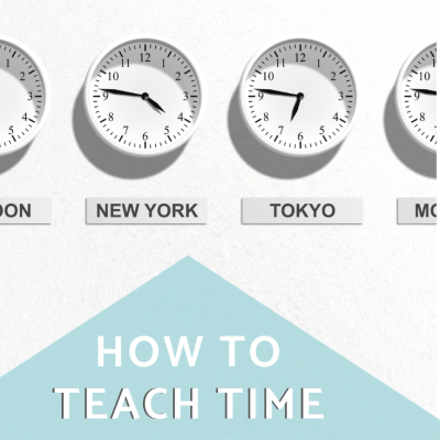 How I Teach Telling Time in Spanish Class