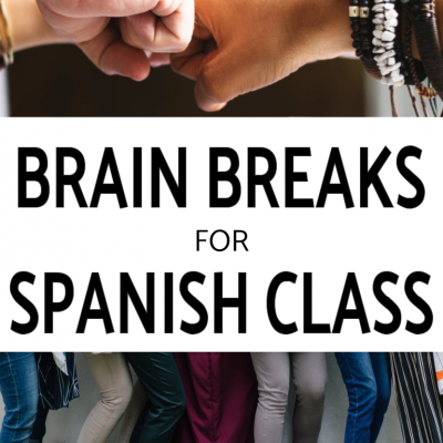 Brain Breaks for Spanish Class – FREE Google Slides!