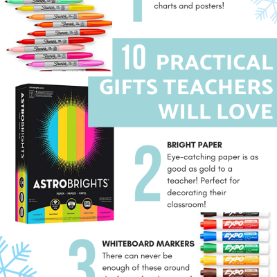 10 Practical Gifts Your Teacher Will Love