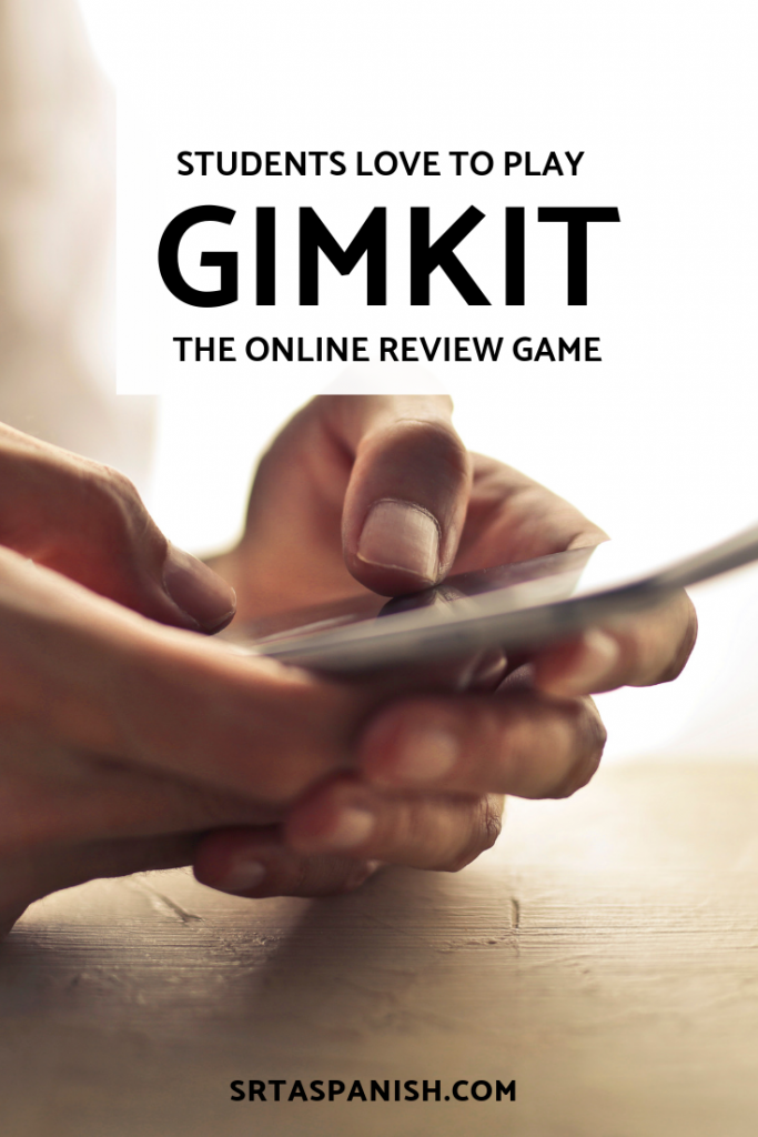 GimKit - You HAVE to check it out! - SRTA Spanish