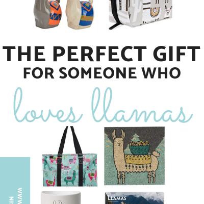 Llama Lovers Gift Guide