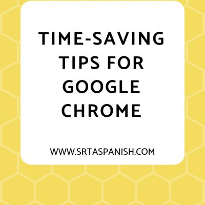 Time Saving Tips for Teachers Using Google Chrome