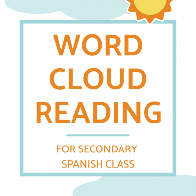 Word Cloud Story Activities