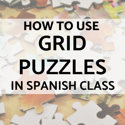 Grid Puzzles in Spanish Class