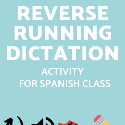 Reverse Running Dictation