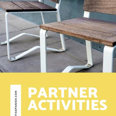 Partner Activities for Spanish Class