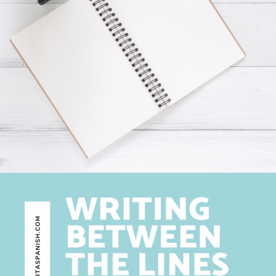 Writing Between the Lines