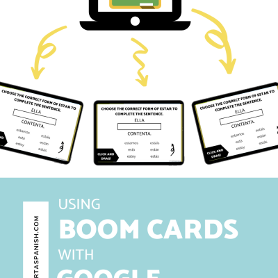 Using Boom Cards with Google Classroom