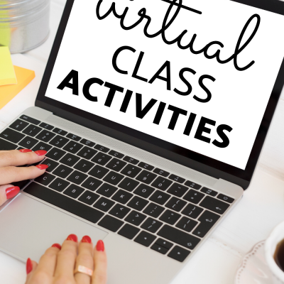 Virtual Class Meeting Games for Language Learners