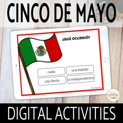 Digital Cinco de Mayo Activities for Spanish Class
