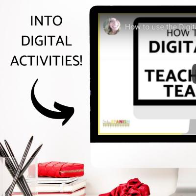 How to Use the Digital Tool on TeachersPayTeachers