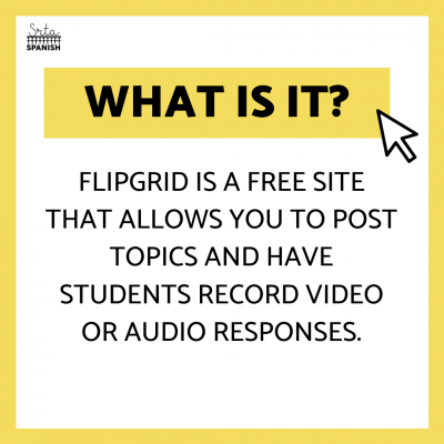 Flipgrid – A Digital Recording and Video Technology Tool