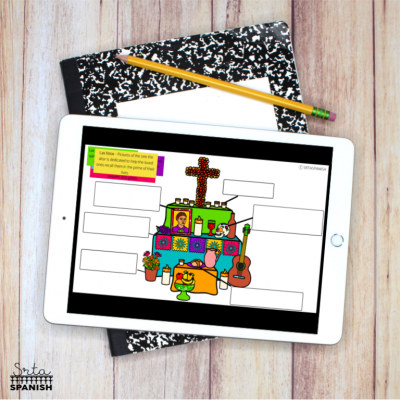 Digital Day of the Dead Activities for Spanish Class