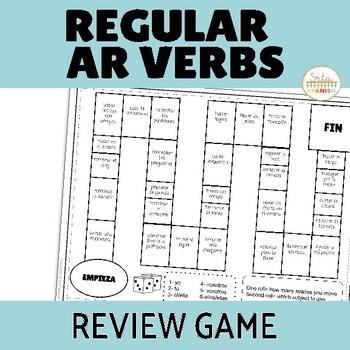 AR Verbs Review Game Los Dados