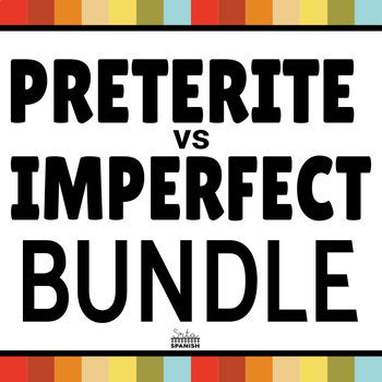 Preterite vs Imperfect Activities MEGA BUNDLE