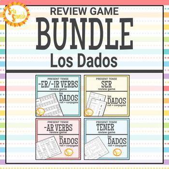 Present Tense Review Game BUNDLE Los Dados