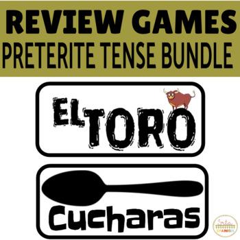 Review Game Pack PRETERITE TENSE MEGA BUNDLE