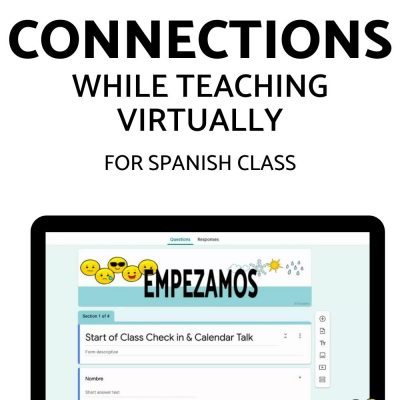 Encouraging Student Connections in a Virtual Setting