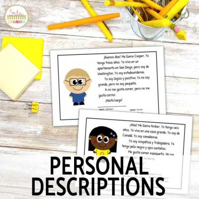Reading Activities to Teach Introductions and Personal Descriptions