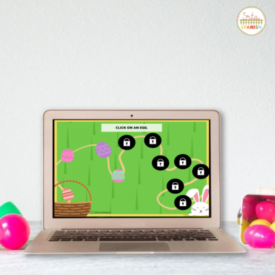 FREE Easter Egg Hunt Review Game for Spanish Class