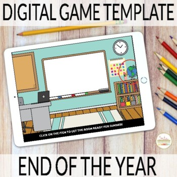 Editable Digital Review Game Template for Spanish